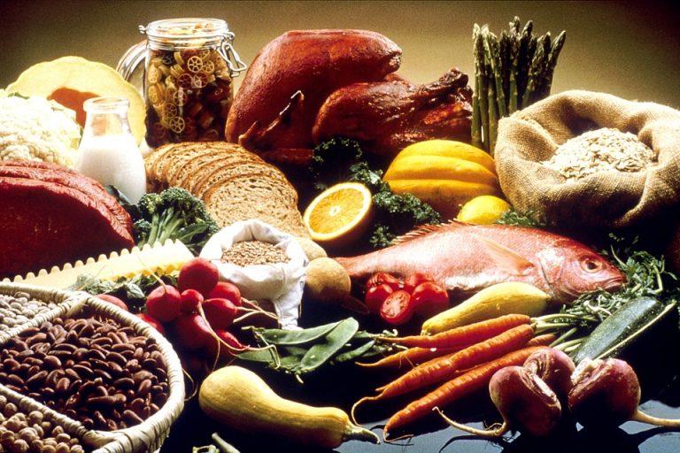 Les catégories d'aliments