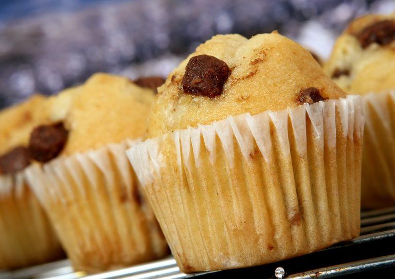 Muffin poire chocolat (sans oeufs)