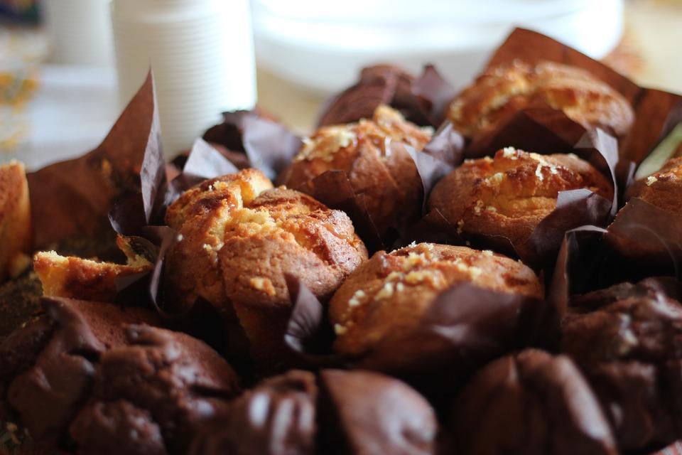 muffin poire chocolat