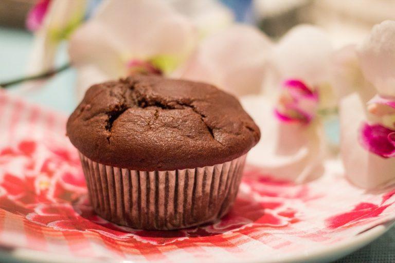 Muffins au chocolat light