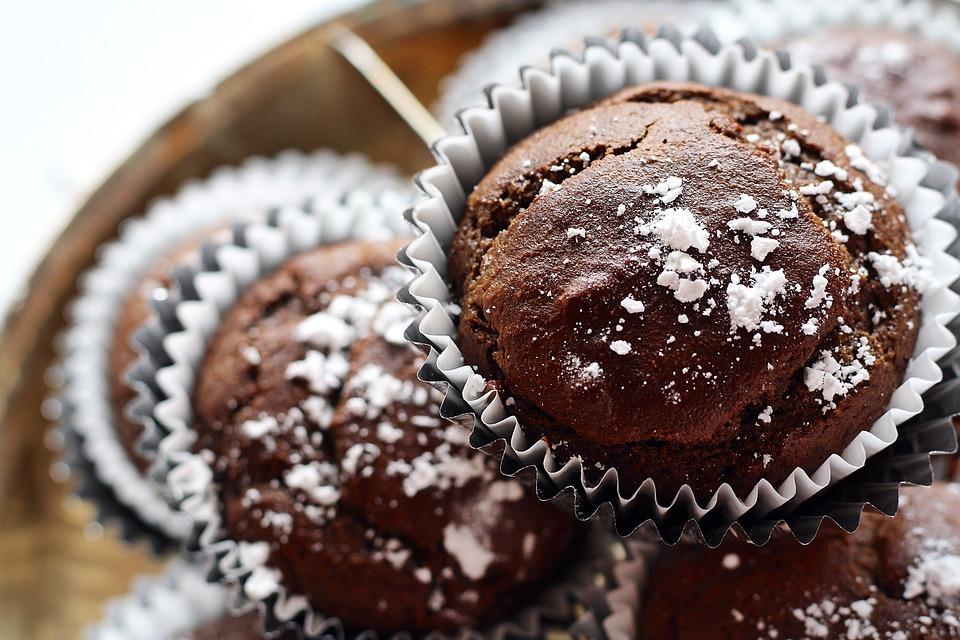 muffin au chocolat light