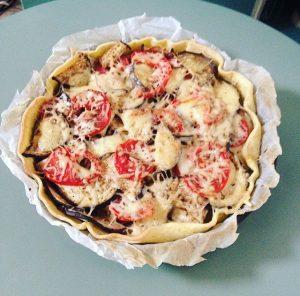 tarte tomate aubergine