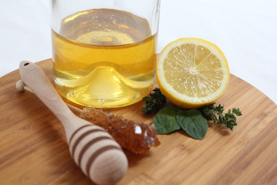 Poulet mariné miel citron
