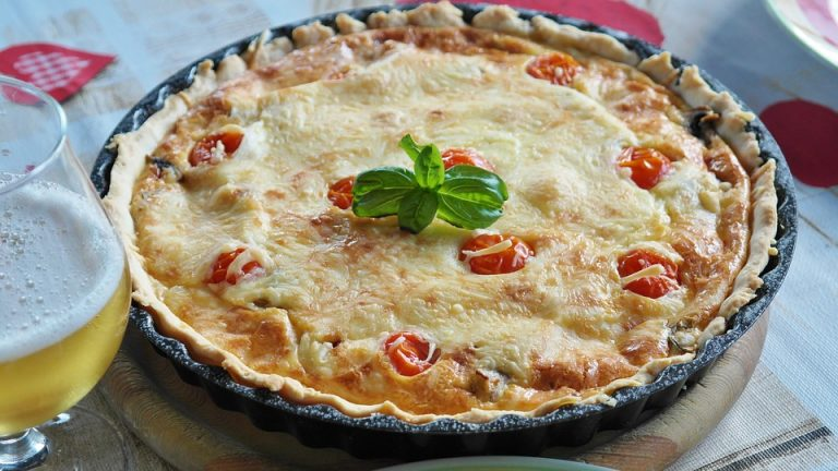 Quiche tomate & thon