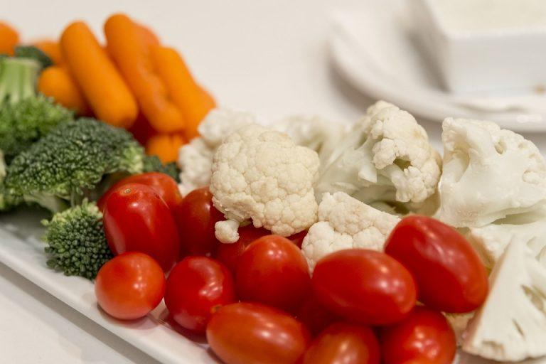 Des légumes à croquer et à tremper
