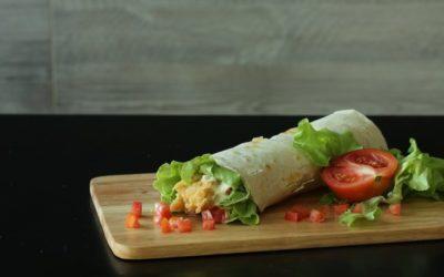 Wrap maison, une alternative minceur au sandwich classique ?