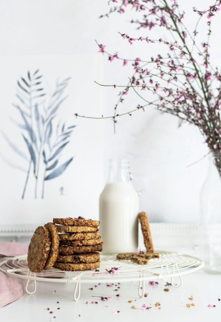 Cookies légers aux flocons d'avoine