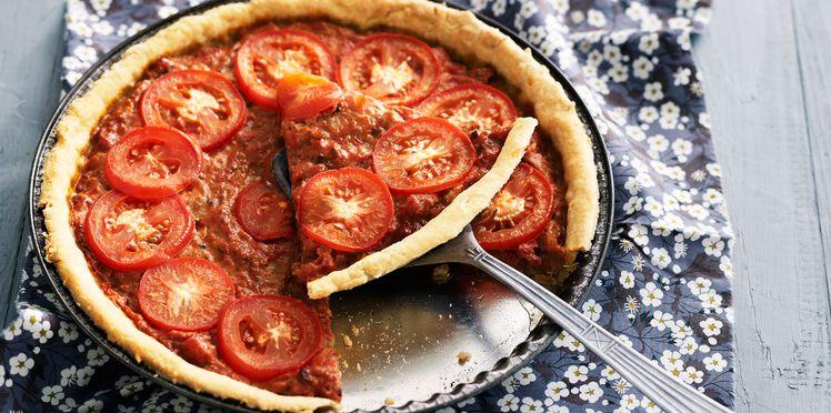 Quiche tomate & thon (sans pâte)