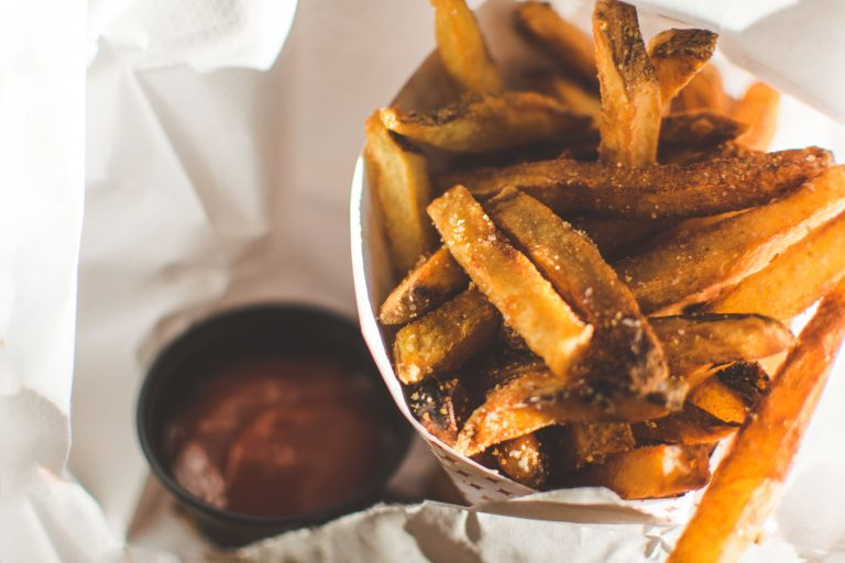Frites healthy maison