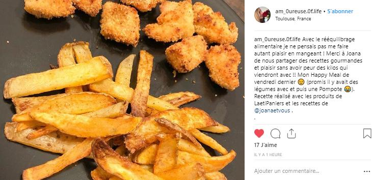 frites maison healthy