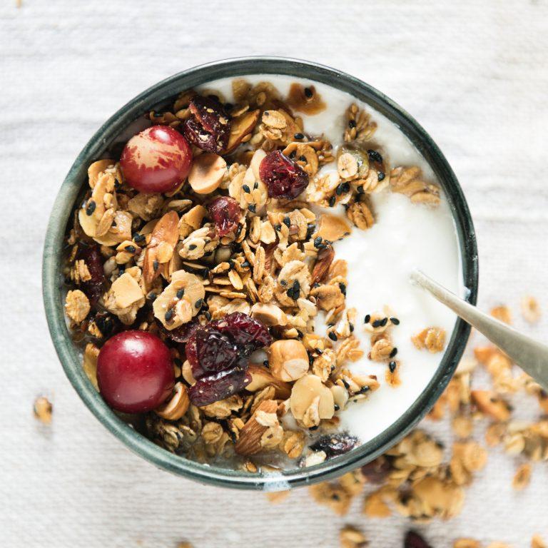 granola maison sans matières grasses