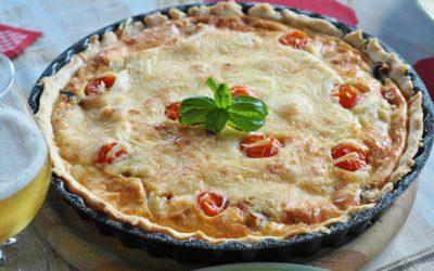 Quiche thon & tomates